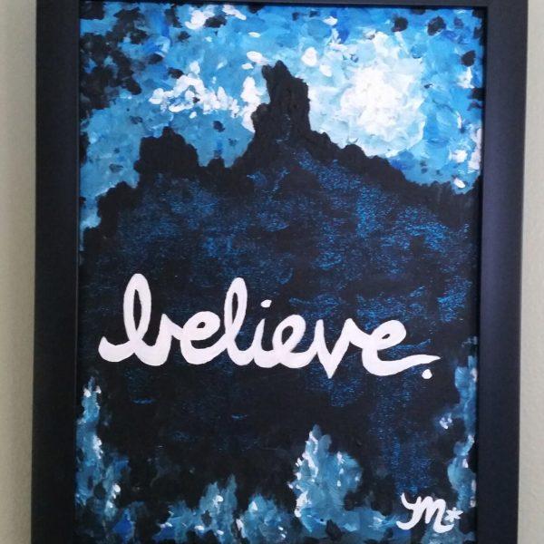 Believe Painting